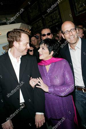 Robert Greenblatt (President Showtime Entertainment), Liza Minnelli and Matthew Blank