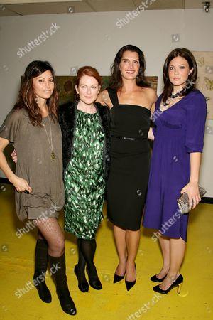 Gina Gershon, Julianne Moore, Brooke Shields and Mandy Moore
