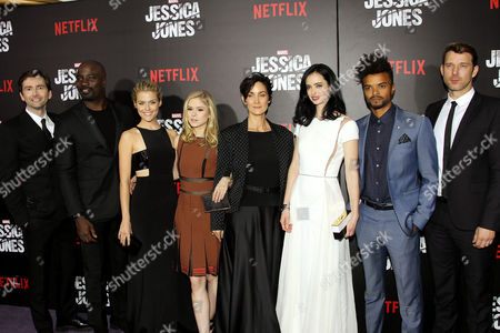 David Tennant, Mike Colter, Rachael Taylor, Erin Moriarty, Carrie-Anne Moss, Krysten Ritter, Eka Darville, Wil Traval