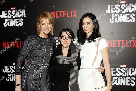 Melissa Rosenberg (Producer), S J Clarkson (Director), Krysten Ritter