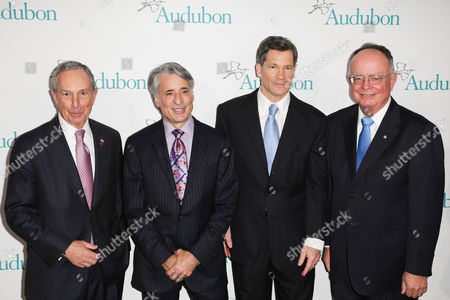Mayor Michael Bloomberg, David Yarnold, Louis Bacon and Dr. George Archibald