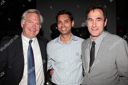 Jonathan Sehring, Raj Roy and Josh Sepan