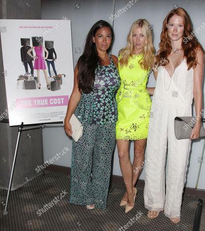 Stock Image of Joy Cioci, Aimee Ruby and Alise Shoemaker