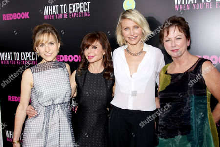 Jill Hertzig, Heidi Murkoff, Cameron Diaz and Mary Morgan