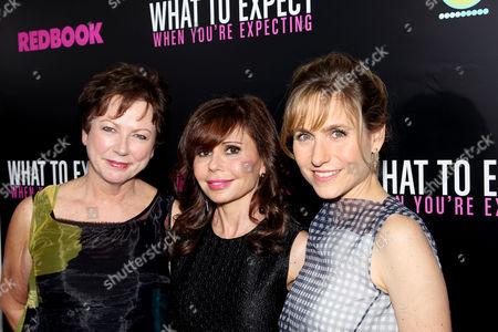 Mary Morgan, Heidi Murkoff and Jill Hertzig
