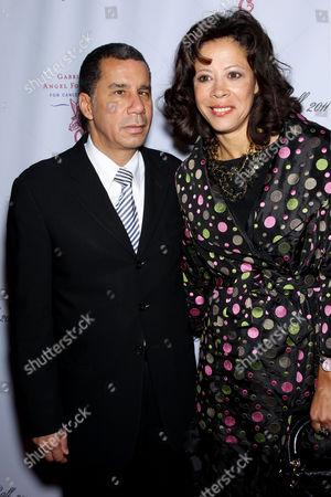 Former Gov. David Paterson and Michelle Paige Paterson