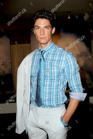 Editorial picture of Nick Graham show Spring/Summer 2016 Men's Presentation at New York Fashion Week, America - 14 Jul 2015