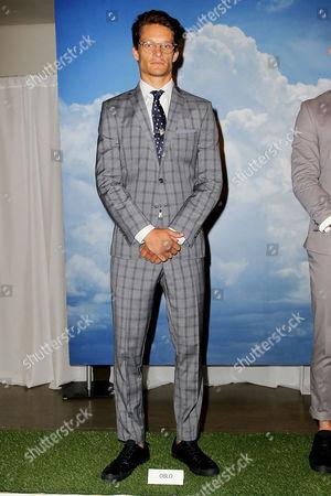 Editorial image of Nick Graham show Spring/Summer 2016 Men's Presentation at New York Fashion Week, America - 14 Jul 2015