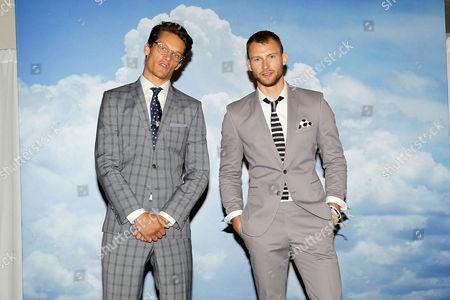 Stock Photo of Danny Bochart and Sebastian Lund