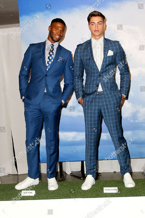 Stock Photo of Henry Watkins and River Viiperi