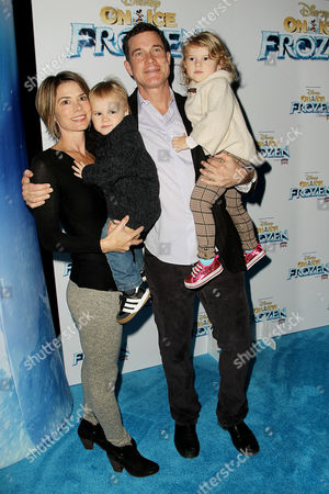 Dylan Walsh with Family
