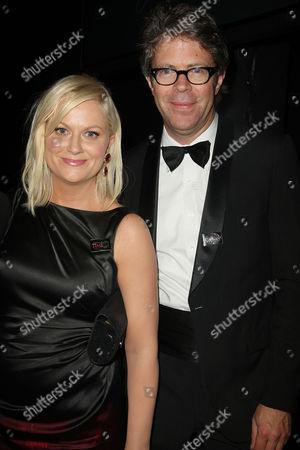Amy Poehler and Jonathan Franzen