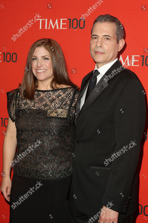 Kim Kelleher (TIME VP and Publisher) and Rick Stengel (TIME Mana