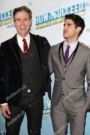 Christopher J. Hanke and Darren Criss