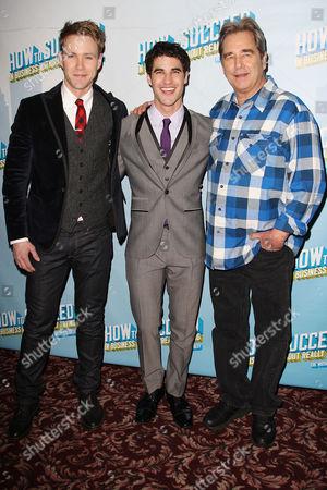 Christopher J. Hanke, Darren Criss and Beau Bridges
