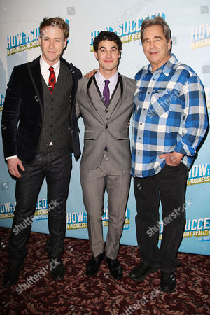 Stock Image of Christopher J. Hanke, Darren Criss and Beau Bridges