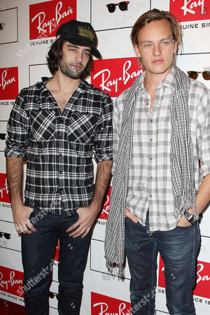 Jay Lyon and Nicolas Potts of band Tamarama