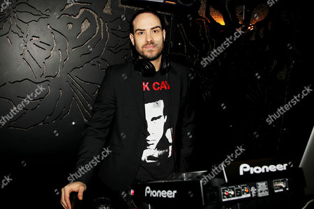 Stock Picture of DJ Jeffrey Tonnesen