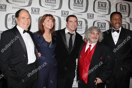 Gabe Kaplan, Marcia Strassman, John Travolta, Robert Hegyes and Lawrence Hilton-Jacobs