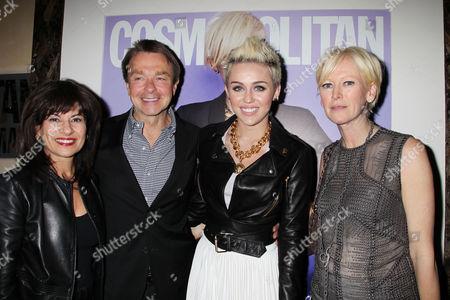 Donna Kalajian Lagani, Michael Clinton, Miley Cyrus, Joanna Coles