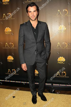 Editorial picture of 'A.D. The Bible Continues' Premiere Reception, New York, America - 31 Mar 2015