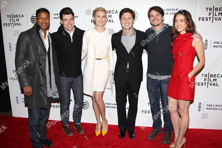 Nate Parker, Max Greenfield, Maggie Grace, Jesse Zwick, Jason Ritter and Aubrey Plaza