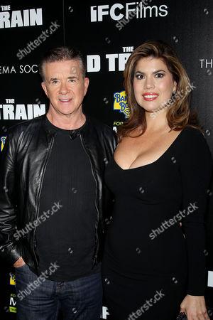 Alan Thicke, Tanya Callau