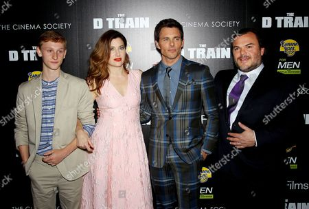 Editorial photo of 'The D Train' film screening at the Cinema Society, New York, America - 06 May 2015