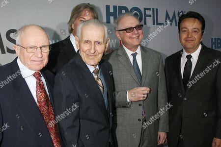 Mark Morgenroth, Dr Jack Kevorkian, Barry Levinson (Director and guest