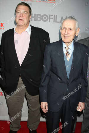 John Goodman and Dr Jack Kevorkian