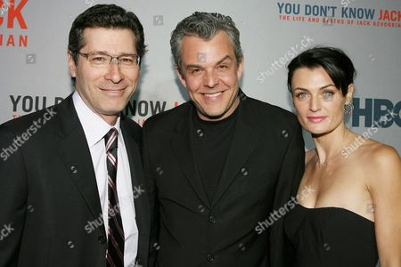 Eric Kessler, Danny Huston and Lyne Renee