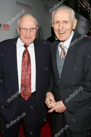 Mark Morgenroth and Dr Jack Kevorkian