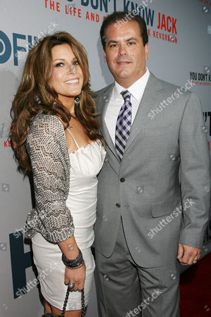 Adam Mazer with wife Allison