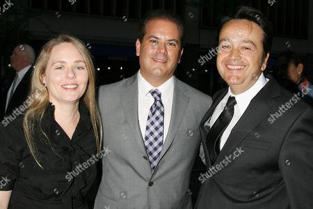 Tara Grace, Adam Mazer (Writer) and Len Amato