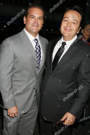 Stock Image of Adam Mazer and Len Amato