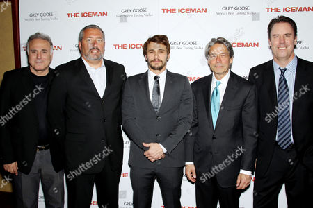 Ehud Bleiberg, Steve Nickerson, James Franco, Bill Lee and Mark Gill