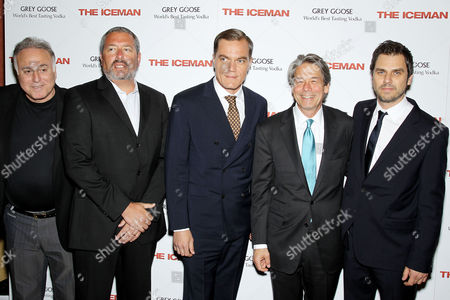 Editorial image of 'The Iceman' film screening, New York, America - 29 Apr 2013