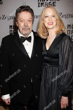 Tim Curry with Marcia Hurwitz