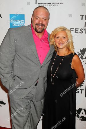 Stock Photo of Hugo Girard with Wife
