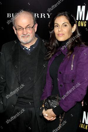 Salman Rushdie with Missy Brody