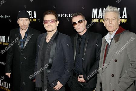 The Edge, Bono, Larry Mullen Jnr, Adam Clayton