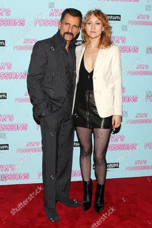Wass Stevens and Danielle Burgess