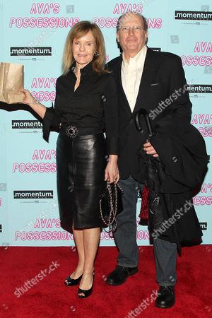 Stock Picture of Deborah Rush and Chip Cronkite (husband)