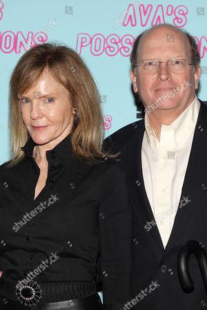 Deborah Rush and Chip Cronkite (husband)