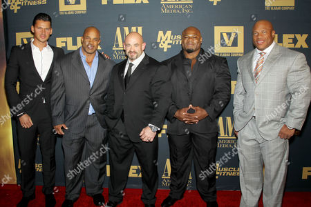 Vlad Yudin (Writer, Director), Victor Martinez, Branch Warren, Kai Greene, Phil Heath