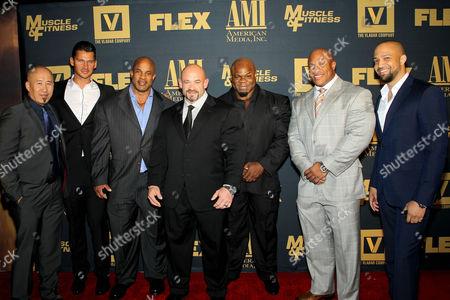 Robin Chang (Executive Producer), Vlad Yudin (Writer, Director), Victor Martinez, Branch Warren, Kai Greene, Phil Heath, Edwin Mejia (Producer)