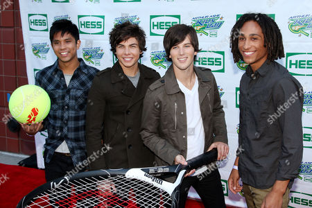Allstar Weekend (L-R: Michael Martinez, Cameron Quiseng, Zach Porter and Nathan Darmody)