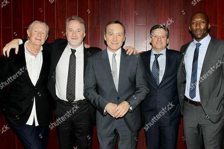 Joel Schumacher, David Fincher, Kevin Spacey, Ted Sarandos (Netflix CCO), Mahershala Ali