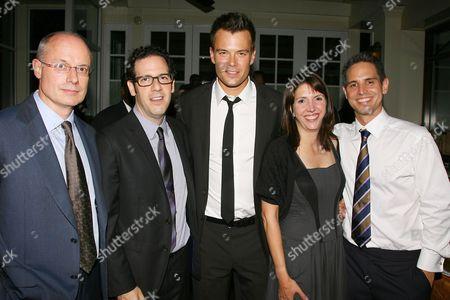 Stock Picture of Paul Brooks, Ian Deitchman, Josh Duhamel, Kristin Rusk Robinson and Greg Berlanti