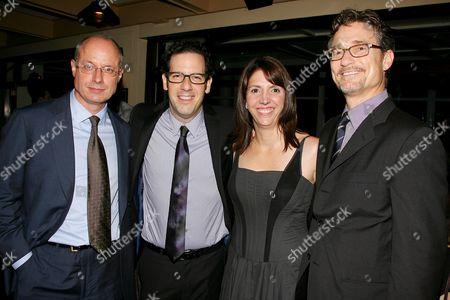 Stock Image of Paul Brooks, Ian Deitchman, Kristin Rusk Robinson and Barry Josephson